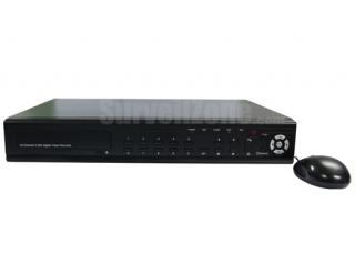 16ch Video Audio H.264 Real time Network DVR with VGA HDMI Output
