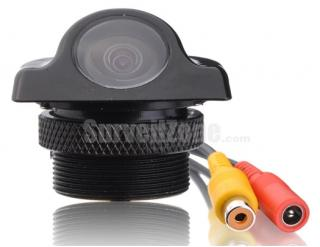 140 Degree Wide Angle CMOS Car Rear View Camera Ceiling Installation