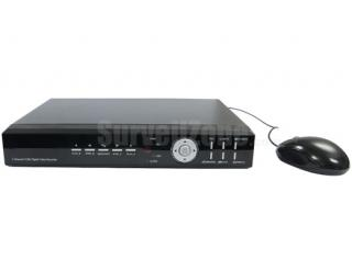 4CH Video Audio H.264 D1 Real Time Network DVR w/BNC & VGA Output