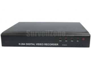 8CH Video H.264 Real Time Network DVR BNC & VGA Output