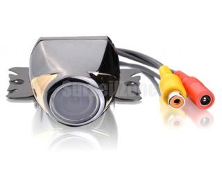150 Degree Wide Angle Car Rearview Camera Silver Color Metal Case