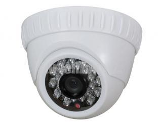 550TVL High-res CMOS Indoor Dome Security Camera IR-cut Filter 20m IR