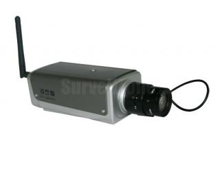 Wireless Network WIFI Color IR IP Box Camera with Two-way Audio
