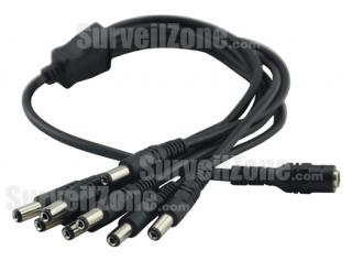 One to Eight Power Splitter Cable