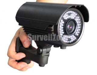 550TVL High-res CMOS Color 60m IR Waterproof Camera 9-22mm Lens