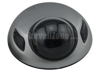 Ultra-thin Sharp CCD 600TVL 10m IR Metal Color Camera 2.8mm Lens
