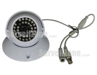 EFFIO-E 700TVL High-res Sony CCD Indoor Dome Camera 25m IR