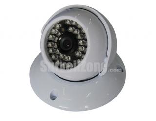 420TVL 1/3 Sony Color CCD Indoor Dome Camera Night Vision 25m IR