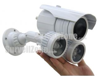 550TVL High-res CMOS Color 80m IR Waterproof Camera 9-22mm Lens