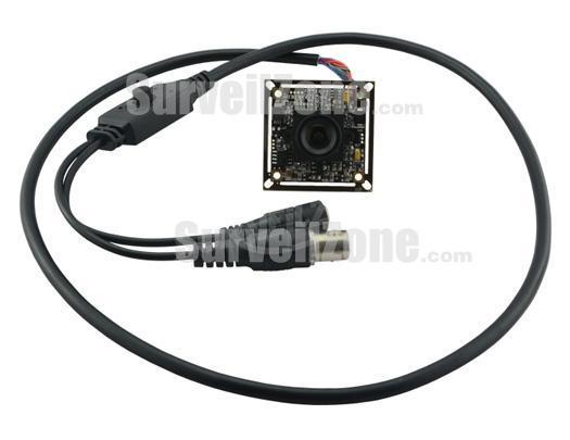 Sony Super HAD CCD 600TVL Board  Camera 2.8mm Lens OSD
