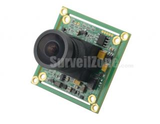 Sony 960H CCD 700TVL Color Board Camera 2.1mm Lens OSD Menu