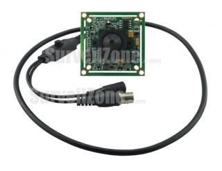 Sony CCD 700TVL Color Board Camera 3.7mm Pinhole Lens OSD Menu