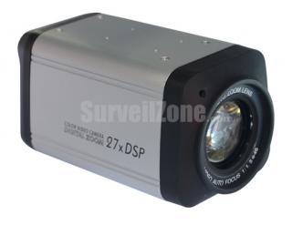 27X Zoom Sony CCD 700TVL Color DSP Camera 0.01Lux