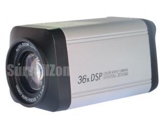 36X Zoom Sony CCD 480TVL Color DSP Camera OSD