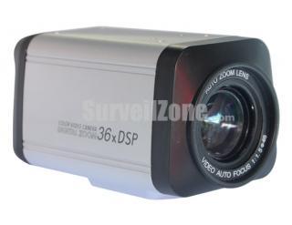 36X Zoom Sony CCD 540TVL Color Camera OSD