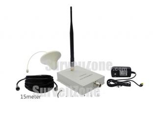Mini Wireless GSM 900M Cell Phone Signal Amplifier RF Repeater (Yagi+Ceiling antenna)