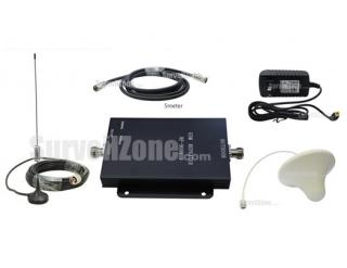 Mini Wireless GSM 900MHz Mobile Phone Signal Amplifier RF Repeater(Sucker+Ceiling antenna)