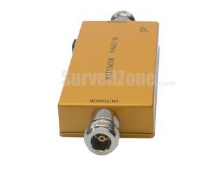 Mini Wireless W-CDMA 2100MHz Mobile Phone Signal Amplifier RF Repeater(Sucker+Directive antenna)