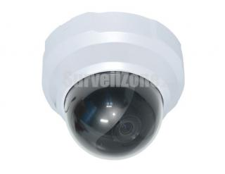 720P HD Low Light Indoor Dome IP WDR Camera POE