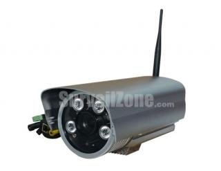 Wireless 720P HD Megapixel Waterproof IR WDR Network IP Camera