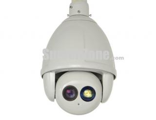 "1/3"" SONY CCD 650TVL 23X Optical Zoom 120m IR High Speed PTZ Camera"