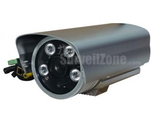 720P HD Megapixel Waterproof IR WDR IP Camera 12mm Lens
