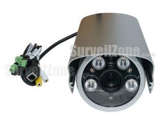 720P HD Megapixel Waterproof IR WDR IP Camera