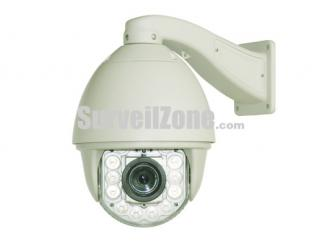 720P HD High Speed PTZ Dome IP Camera 150M IR 18x Optical Zoom