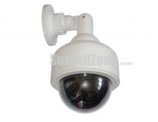Dummy Waterproof Dome Camera with Red Led Flashing