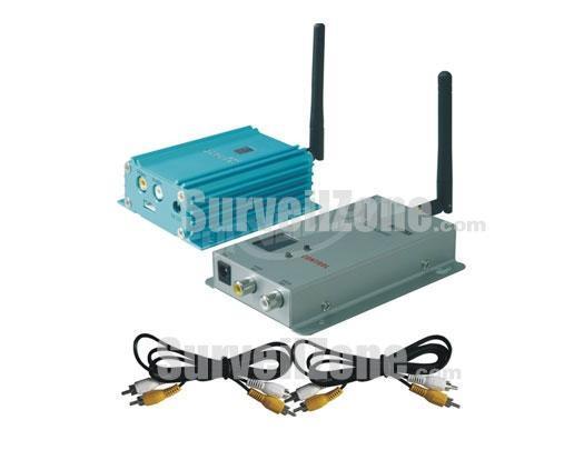 2.4G 2000mW 8CH Wireless AV Transmitter & Receiver