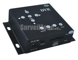 1CH Video Audio High-res D1 Mini DVR with Motion Detection