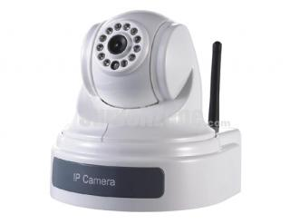 H.264 D1 Wireless Network Pan Tilt 420TVL Color WiFi IP Camera IR 15m