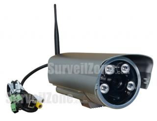 Wireless 720P HD Megapixel Waterproof IR WDR IP Camera 12mm Lens