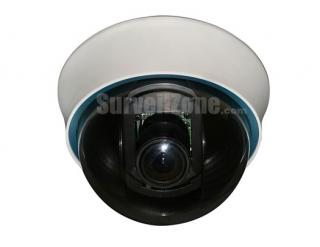 Pixim Super WDR 690HTVL Effective Indoor Color Dome Camera with 4-9mm Lens OSD