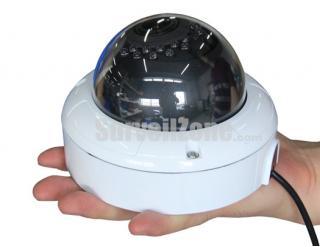 "550TVL High-res 4.5"" Waterproof Color CMOS IR Camera 2.8~12mm Lens"