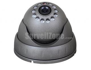 """550TVL 2.5"""" Color CMOS Metal Dome IR Camera 3.6mm Lens"""