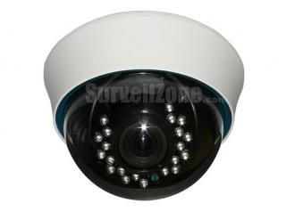 1/3 Sony 960H CCD Effio-E 700TVL Indoor Color IR Dome Camera 2.8-12mm Lens OSD