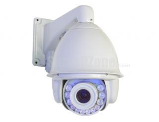 7 Inch 1/4 SONY CCD 600TVL 30X Zoom High Speed PTZ Camera 140m IR