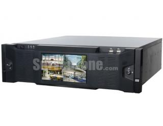 128CH 16HDDs HD Super Network Video Recorder with 7inch LCD Monitor