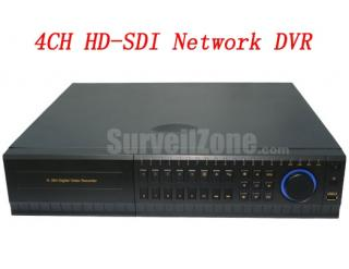 High Definition 2U 4CH HD SDI DVR Digital Video Recorder with HDMI VGA Output