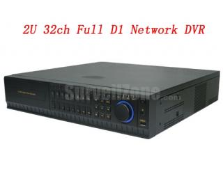 32CH Real Time Full D1 Network DVR HDMI VGA Output & IPhone Remote View