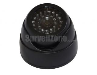 Fake IR Indoor Dome Camera with red Flashing LED