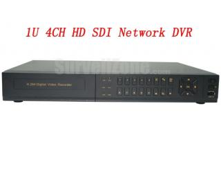 H.264 1080p 1U 4CH HD SDI Network DVR HDMI VGA Output