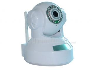720P Megapixel HD IR Indoor WIFI Network IP Pan Tilt Dome Camera