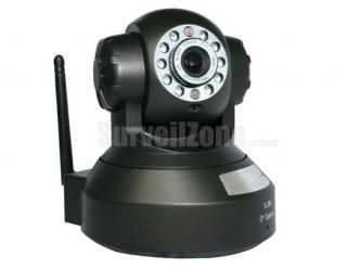 Megapixel HD IR Indoor WIFI IP Dome Security Camera with Pan Tilt P2P
