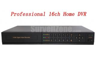 1U 16CH All Real Time H.264 Network DVR VGA Output