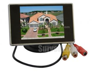 3.5 inch Mini Digital TFT LCD Monitor with 2 AV Input