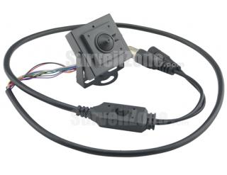 SHARP CCD 600TVL Square Camera 3.7mm Pinhole Lens OSD