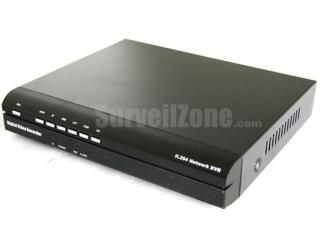 4CH Full D1 H.264 Network Security DVR Cloud P2P Remote View