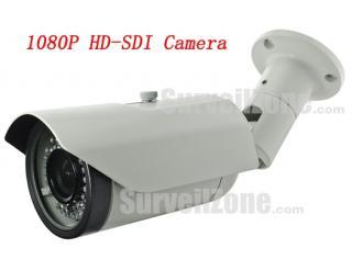 1080P Waterproof IR HD SDI Camera with 1/3 inch 2 Megapixel Sony CMOS Sensor